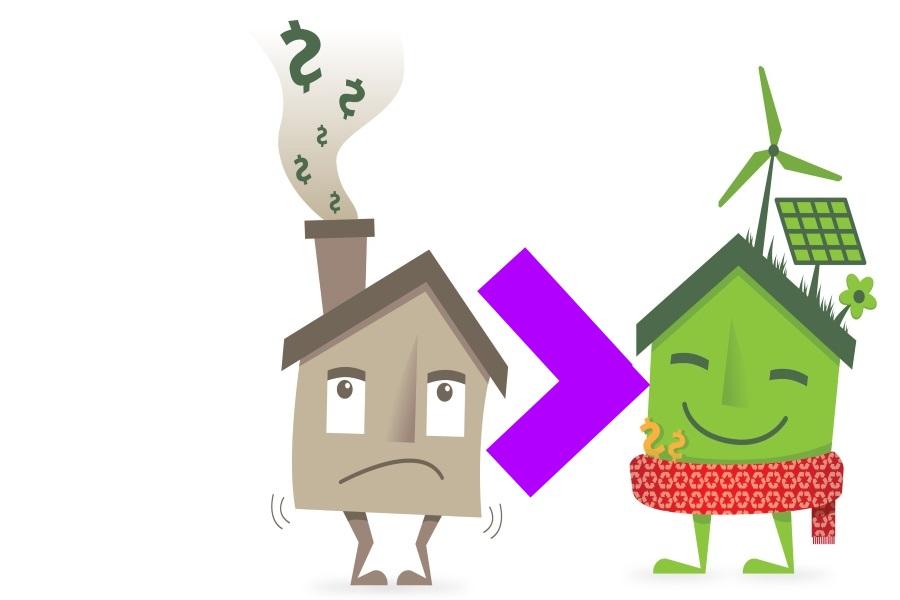 Warmtepompen, zonnepanelen en zonneboilers worden verplicht bij ingrijpende renovatie