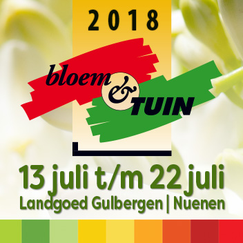 Bloem & Tuin beurs 2018